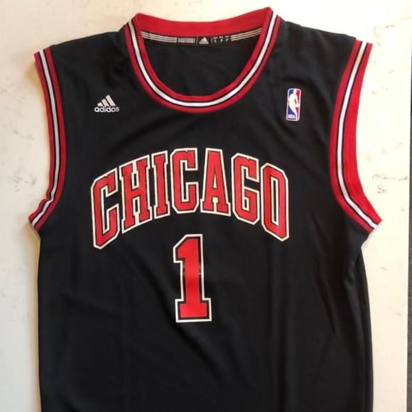 adidas Shirts   Adidas Chicago Bulls Jersey   Poshmark